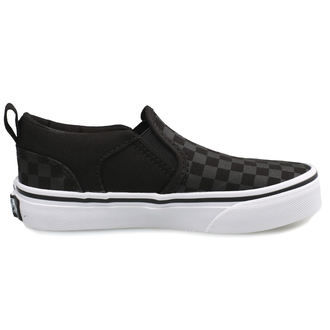 scarpe da ginnastica basse bambino - YT ASHER (Checker)Blk/Bl - VANS