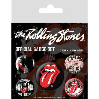 Spillette distintivi Rolling Stones - (&&string0&&) - PYRAMID POSTERS, PYRAMID POSTERS, Rolling Stones
