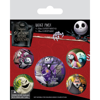 Spilletta distintivi Nightmare Before Christmas - (&&string0&&) - PYRAMID POSTERS, PYRAMID POSTERS