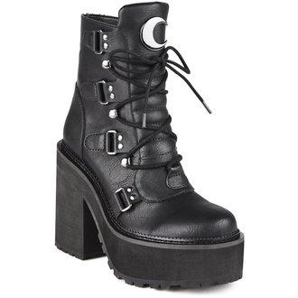 scarpe con cuneo donna - BROOM RIDER - KILLSTAR, KILLSTAR