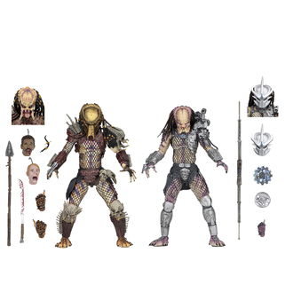 figura (set di 2 pezzi) Predator - Bad Blood & Enforcer, NNM, Predator