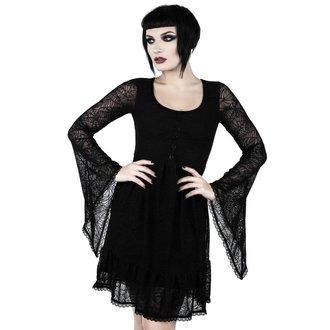 Vestito Da donna KILLSTAR - CASKET CUTIE WEB - NERO, KILLSTAR