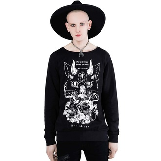 Felpa unisex con cappuccio KILLSTAR - Cat Lord, KILLSTAR
