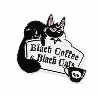 Spilla KILLSTAR - Coffee & Cats - Argento, KILLSTAR