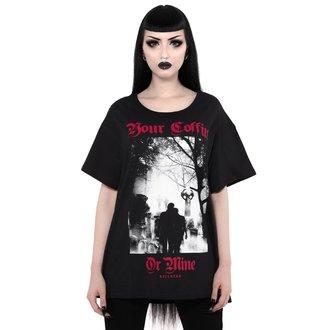 t-shirt unisex - Coffin Relaxed - KILLSTAR, KILLSTAR