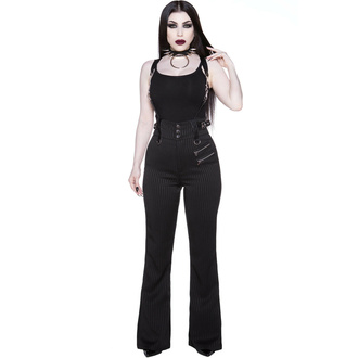 Pantaloni da donna KILLSTAR - Corporate Misfit - Gessato, KILLSTAR