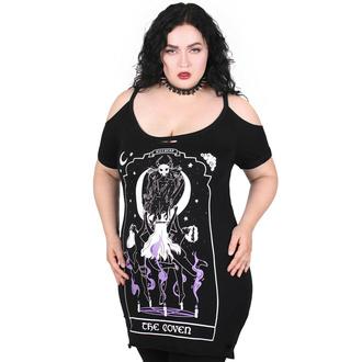 Maglietta da donna (top) KILLSTAR - Coven Distress - Nero, KILLSTAR