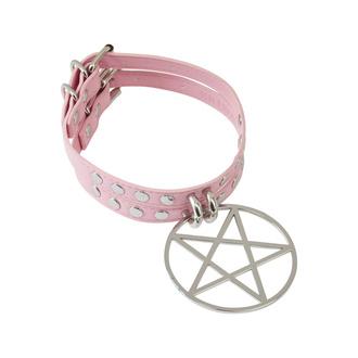 Collare KILLSTAR - Cute But Psycho - Pastello Pink, KILLSTAR