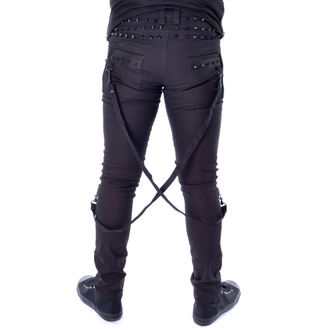 pantaloni Vixxsin - CHROME - NERO, VIXXSIN