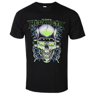 t-shirt metal uomo Megadeth - 35 YEARS H/PHONES SKULL - PLASTIC HEAD, PLASTIC HEAD, Megadeth