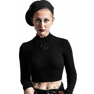 Maglietta da donna a maniche lunghe KILLSTAR - Darkest Hour Ribbed - Nero, KILLSTAR