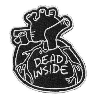 toppa da stirare KILLSTAR - Dead Inside - NERO, KILLSTAR