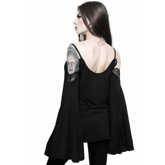 Camicia da donna manica lunga KILLSTAR - Dead rose vest, KILLSTAR