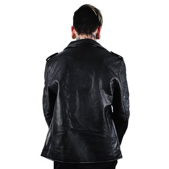 giacca di pelle uomo - Death Rawk - KILLSTAR, KILLSTAR