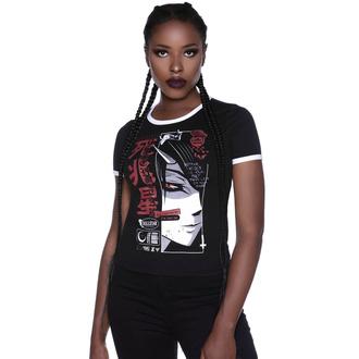 Maglietta da donna KILLSTAR - Deathstar Ringer, KILLSTAR