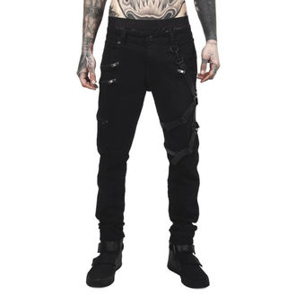 Pantaloni Uomo KILLSTAR - DEATH WISH - NERO, KILLSTAR