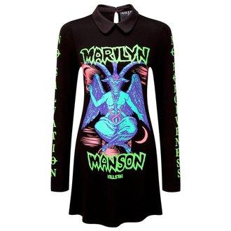 vestito donne KILLSTAR - MARILYN MANSON - diavolo Sopra giro - Nero
