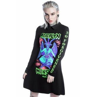 vestito donne KILLSTAR - MARILYN MANSON - diavolo Sopra giro - Nero, KILLSTAR, Marilyn Manson