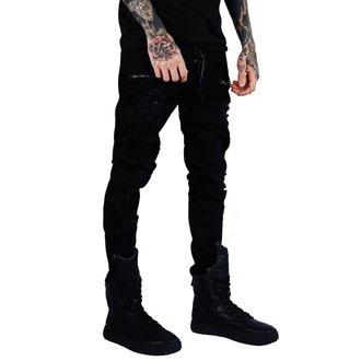 pantaloni (unisex) KILLSTAR - Diablo Jeans - NERO, KILLSTAR