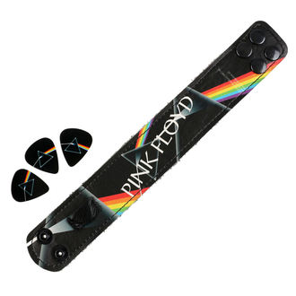set braccialetto + plettro Pink Floyd - PERRIS LEATHERS, PERRIS LEATHERS, Pink Floyd