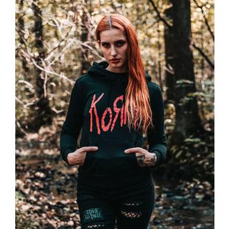 felpa con capuccio donna Korn - Logo - NNM, NNM, Korn