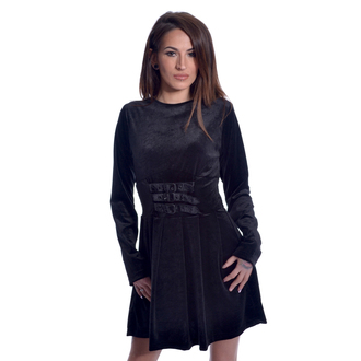 vestito HEARTLESS - GOTHIC WEDNESDAY - NERO, HEARTLESS
