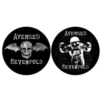 Pad del giradischi (set 2pcs) AVENGED SEVENFOLD - DEATH BAT / ASTRONAUT - RAZAMATAZ, RAZAMATAZ, Avenged Sevenfold