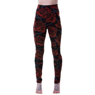 leggings KILLSTAR - EDEN - NERO, KILLSTAR