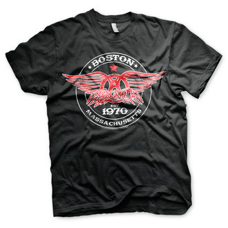 t-shirt metal uomo Aerosmith - Est. 1970, Boston - HYBRIS, HYBRIS, Aerosmith
