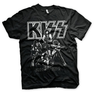 t-shirt metal uomo Kiss - Hottest Show On Earth - HYBRIS, HYBRIS, Kiss