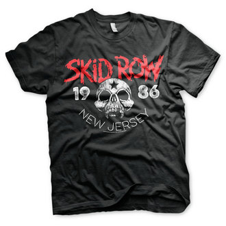 t-shirt metal uomo Skid Row - New Jersey - HYBRIS, HYBRIS