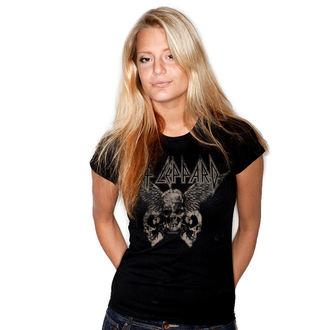 t-shirt metal donna Def Leppard - Flying Skulls - HYBRIS, HYBRIS, Def Leppard