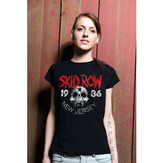 t-shirt metal donna Skid Row - New Jersey - HYBRIS, HYBRIS