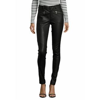 Pantaloni da donna in pelle - GW SNVV - Nero, NNM