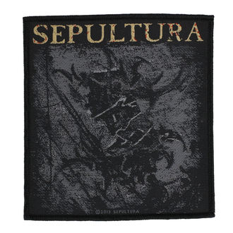 toppa SEPULTURA - THE MEDIATOR - RAZAMATAZ, RAZAMATAZ, Sepultura