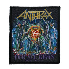 toppa ANTHRAX - FOR ALL KINGS - RAZAMATAZ, RAZAMATAZ, Anthrax