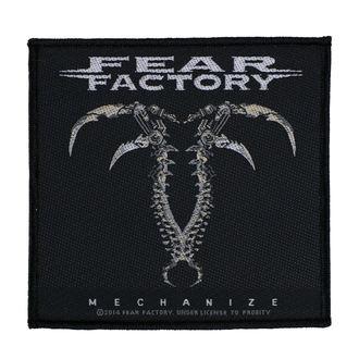 toppa FEAR FACTORY - MECHANIZE - RAZAMATAZ, RAZAMATAZ, Fear Factory