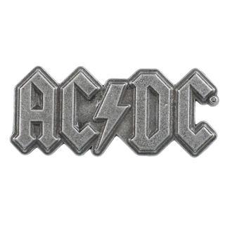 targhetta  AC  /  DC  - Metal Logo - RAZAMATAZ, RAZAMATAZ, AC-DC