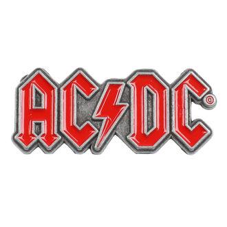 targhetta  AC  /  DC  - Red Logo - RAZAMATAZ, RAZAMATAZ, AC-DC