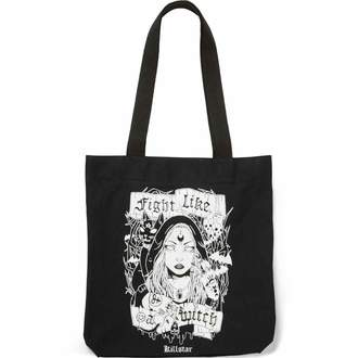 borsetta KILLSTAR - FIGHT LIKE A WITCH TOTE - NERO, KILLSTAR