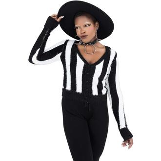 Maglione da donna KILLSTAR - Freakshow Cardigan - STRISCIA, KILLSTAR