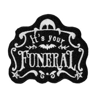 Toppa (applique per ferro da stiro) KILLSTAR - Funeral, KILLSTAR