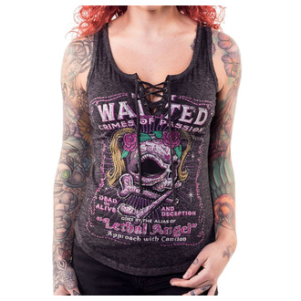 Canotta LETHAL THREAT - ANGEL MOST WANTED SKULL, LETHAL THREAT