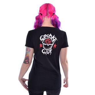t-shirt donna - FALLING BUNNIES - CUPCAKE CULT, CUPCAKE CULT