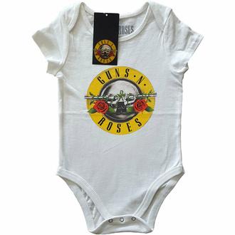 Body da bambini Guns N' Roses - Classic Logo - WHT - ROCK OFF, ROCK OFF, Guns N' Roses
