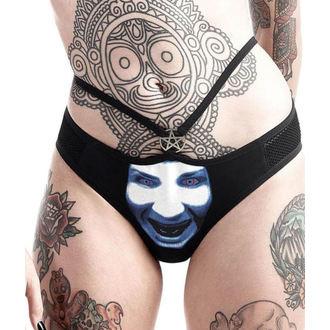 Mutandine Da donna KILLSTAR - Marilyn Manson - Dio di Fanculo - Nero, KILLSTAR, Marilyn Manson
