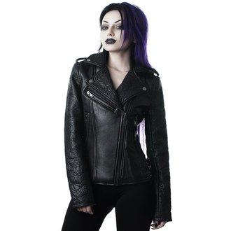 giacca di pelle donna - Graveyard Shift Biker - KILLSTAR, KILLSTAR
