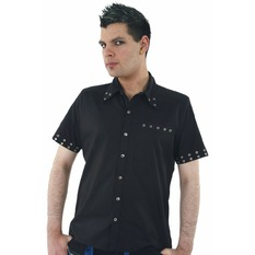camicia uomo DEAD THREADS - Nero, DEAD THREADS