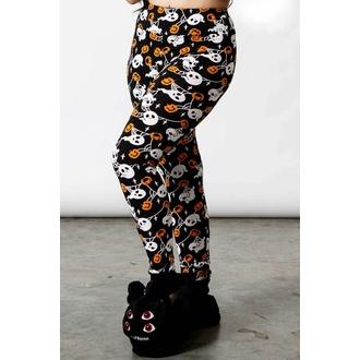 Pantaloni da donna (pigiama) KILLSTAR - Haunted Pumpkin Lounge - Nero, KILLSTAR