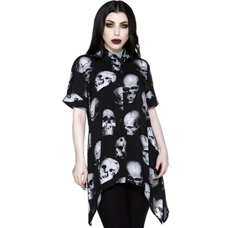 Camicia da donna KILLSTAR - Headache Button-Up - Nero, KILLSTAR